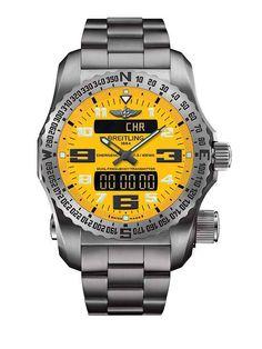 Breitling Emergency II - Cobra Yellow Dial