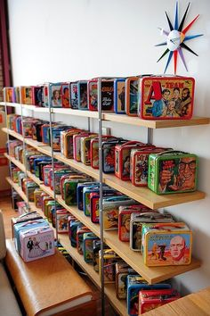 Lunch box collection - How awesome is this?  My collection is no where near as big...