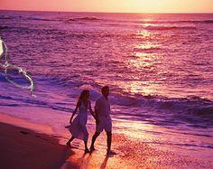 Moonlight walk on the MS Gulf Coast