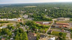 Thank you Ray Stone for this amazing picture that you captured of our new Portage County Office from your Hot Air Balloon Ride!