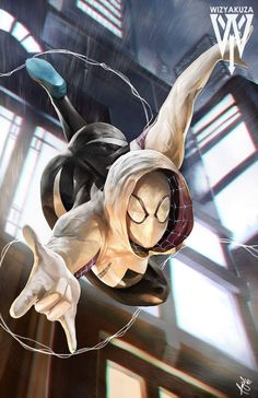 Spider-Gwen by Ceasar Ian Muyuela