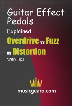 Have you ever thought about how dull and uninspiring guitar playing would be without guitar effects pedals?  Main Difference Between Distortion, Overdrive, and Fuzz Guitar Effect Pedals – A Summary  #musicgear #overdrive #distortion #fuzz #guitarpedals #guitareffects #homestudio #musicproduction #musictips Guitar Effects Pedals, Guitar Pedals, Dave Davies, You Really Got Me, Distortion Pedal, You Sound, Music Production, High Energy, Fuzz