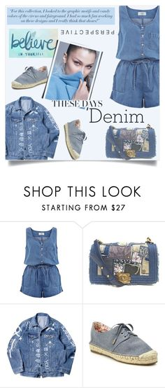 """These days, only denim"" by kriz-nambikatt on Polyvore featuring New Look, Victoria Beckham, Chanel, Joie and DenimStyle"