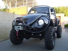 VW Beetle 4WD; One mean muddin machine!