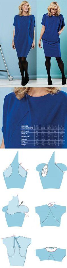 Как сшить платье-оригами | WomaNew.ru - уроки кройки и шитья!