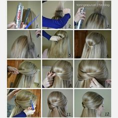 Simple but awesome :) #hairstyle #tutorial #hair #hairstyletutorial #girl #brown #new #followme #ribbon #simple #girls #girly #girlstuff #girlshair #tumblr #push #simple #beauty #selfie #lol #yay #nice #cool