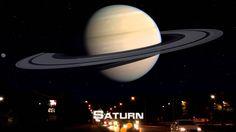 Como se vería si los demás planetas estuvieran igual de cerca que la Luna