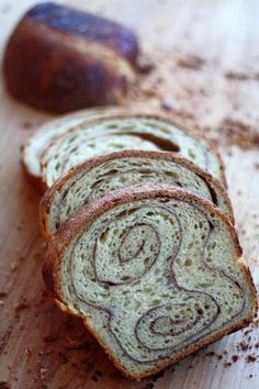 cinnamon-swirl-bread This is the best cinnamon bread EVER and it makes some fabulous French toast. Not to mention it is super easy. I subbed coconut milk for the half and half and I did not bake the cinnamon on top. I was afraid it would burn.