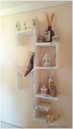 40+ DIY Wooden Bookshelf Inspiration