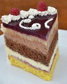 Sweet Recipes, Cake Recipes, Dessert Recipes, Czech Recipes, International Recipes, Chocolate Desserts, Let Them Eat Cake, Relleno, Food Cakes