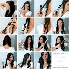 How-to: Curling Iron Waves