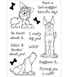 Inky Antics - Delightful Dogs #2