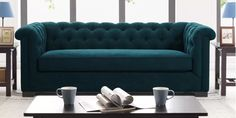 """88.5"""" Round Arm Sofa & Reviews 