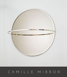 """42"""" Diameter x 24"""" Deep As Shown in Polished Nickel w/ Bronze mirror Custom Sizing Available Made in California…"""