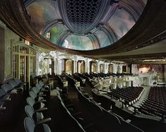 Uptown Theater - The largest in Chicago, it boasts 4,381 seats and its interior volume is said to be larger than any other movie palace in the United States, including Radio City Music Hall in New York