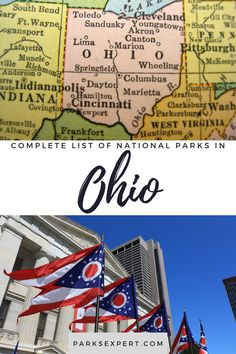 Did you know there are 8 national parks in Ohio? Click here for the list, including things to do and how to get there. Plus, download my free checklist! | national parks in Ohio | ohio national parks Usa Travel, Travel Tips, Lakeview Cemetery, List Of National Parks, Cleveland City, Outdoor Woman, Travel Inspiration, North America
