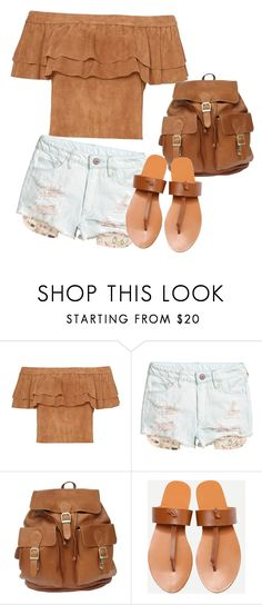 """""""Brown"""" by ilenia-aretusi ❤ liked on Polyvore"""