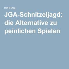 JGA-Schnitzeljagd: die Alternative zu peinlichen Spielen