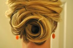 Wedding Hairstyle – Soft Alluring Updo for Brides with Thin Hair
