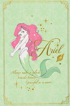 Uploaded by Lauren. Find images and videos about disney, ariel and the little mermaid on We Heart It - the app to get lost in what you love. Disney Pixar, Disney Merch, Arte Disney, Disney And Dreamworks, Disney Cartoons, Disney Magic, Disney Art, Disney Princess Ariel, Mermaid Disney