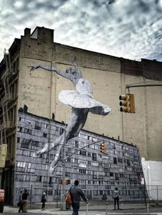 A 100-Foot Ballerina Is Taking Over New York City