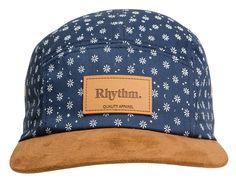 Polka Daisy 5-Panel Hat by RHYTHM