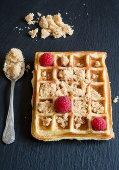 1, 2, 3, Gaufres zum Frühstück (Waffeln) | Französisch Kochen by Aurélie Bastian