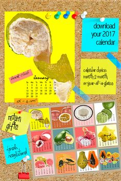 Enjoy the tastes of the tropics every month. Calendar available in either year-at-a-glance or month-2-month. Simply click, download and print. http://www.brookstropicals.com/taste-the-tropics-calendar/