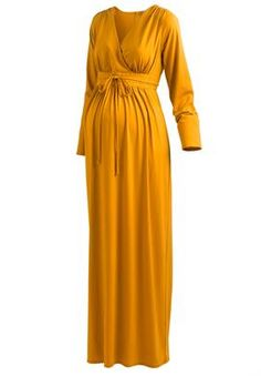 Jessica London - Maternity Knit Maxi Dress