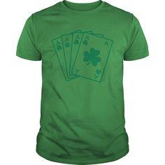 Show your Shamrock Poker shirt - Wear it Proud, Wear it Loud!