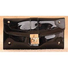 The shiny black, Hatsuye - womens fashion black #purses