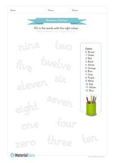 NEU: Ein kostenloses Englisch-Arbeitsblatt zum Thema \