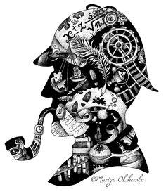 Mr. Holmes by mariyaolshevska.deviantart.com on @deviantART