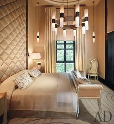Stately and timeless Art Deco inspired bedroom | Jean-Louis Deniot | Architectural Digest...