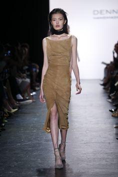 Dennis Basso September 2016 at New York Fashion Week. #NYFW