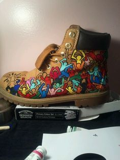 custom painted timberlands - Google Search