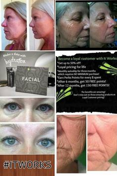 Get ready for Wedding Day pictures with a hydration mask that lifts and tightens your skin naturally! It works Facial application -Love this product! http://lcrawfordwraps.myitworks.com/shop/product/103/