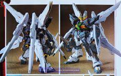 1/144 GX-9911-DXS Gundam Double X Stream - Custom Build [6/14/14]