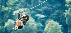 Sky Adventures zip line, Costa Rica