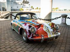 Current photography of the Janis Joplin Porsche: CREDIT: Darin Schnabel © 2015 courtesy RM Sotheby's
