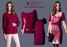 Rubino, uno dei colori moda Autunno Inverno 2014, protagonista della nuova collezione EDAS
