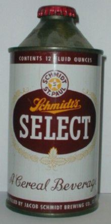 Schmidts Select Beer Can