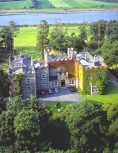 Waterford Castle, Ireland. Waterford Crystal Was founded in 1783