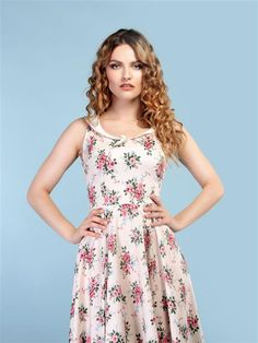 Robe Swing, Swing Dress, Floral, Casual, Clothes, Dresses, Style, Fashion, Vintage Dress