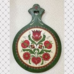 Painted Boards, Wooden Case, Folk Art, Decorative Plates, Homemade, Painting, Home Decor, Wood, Decoration Home
