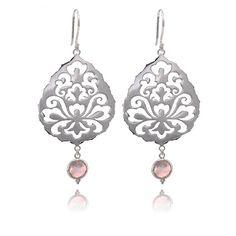 Silver Earrings 'Souldance' handmade in by AnandaSoulCreations, $115.00