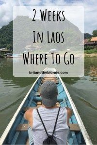 Two weeks in Laos is the perfect amount of time to incorporate the Gibbon Experience, catch the 2 day slow boat to Luang Prabang, with enough time to. Laos Travel, China Travel, Vietnam Travel, Solo Travel, Japan Travel, Adventures Abroad, Luang Prabang, Gap Year, Amazing Destinations