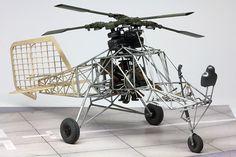 scale Flettner Fl 282 Kolibri by Wurzacher War Of Attrition, Helicopters, Scale Models, Scale Model