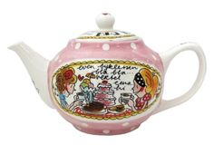Blond Amsterdam Even Bijkletsen Tea Pot <3