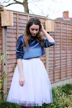 diy skirt,tulle skirt,diy tulle skirt